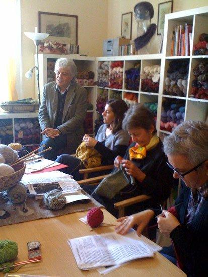 Giuliano Marelli in visita a sorpresa al corso avanzato del martedì.